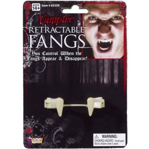 retractable fangs, yes please!