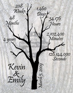"Personalized ""Our Life Together"" Tree"
