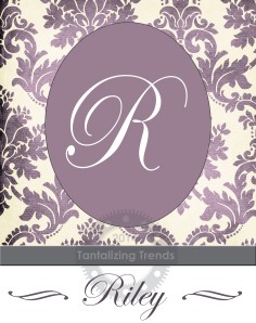 Personalized Monogram Wall Art