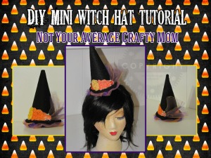 DIY Mini Witch Hat Logo